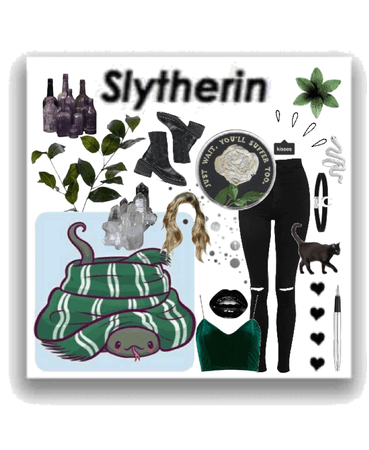 slytherin; an aesthetic