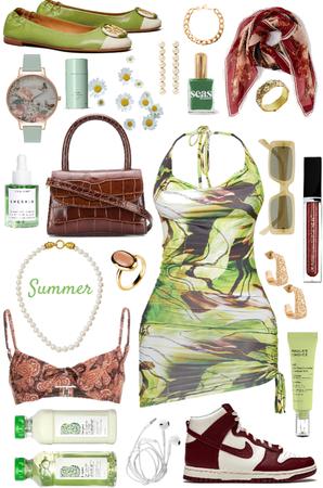 green summertime
