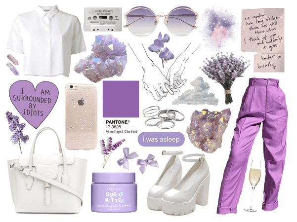 crystal & lavender