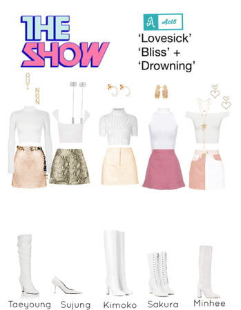 ACT5 - The Show - 'Lovesick' 'Bliss' 'Drowning'
