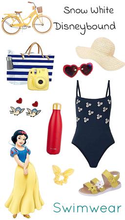 Snow White Swimwear Disneybound