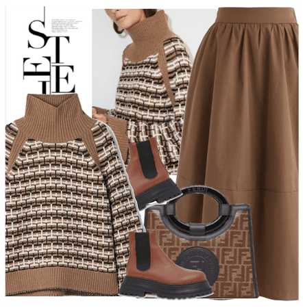 style in brown