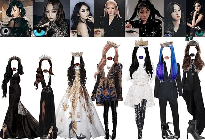 MISS KOREA GROUP TEASER #1 (Instrumental: Miss Korea Lee Hyori)