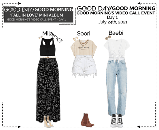 GOOD DAY (굿데이) [GOOD MORNING] Video Call Event - Day 1