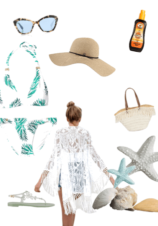 Outfit for sister n.5 : beach