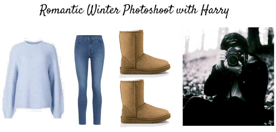 Romantic Winter Photoshoot With Harry