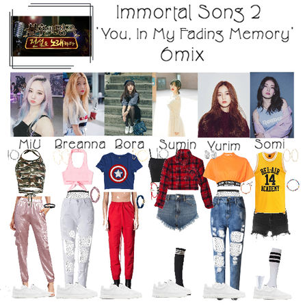 6mix - Immortal Song 2 Performance
