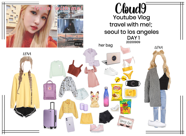 Cloud9 (구름아홉) | travel with me!; seoul to LA