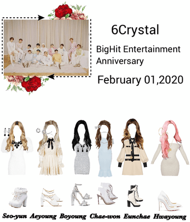 6Crystal BigHit Entertainment Anniversary