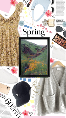 60 second Spring outfit
