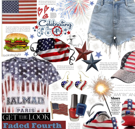 Get the look: faded fourth