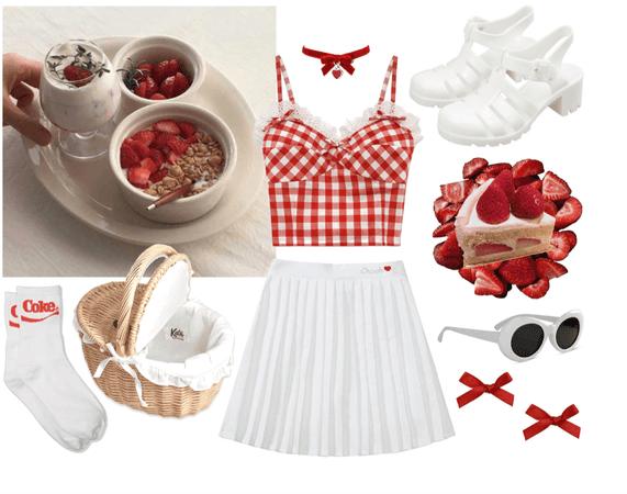 Afternoon Strawberry Lolita