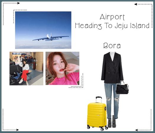 《6mix》Bora Heading To Jeju Island