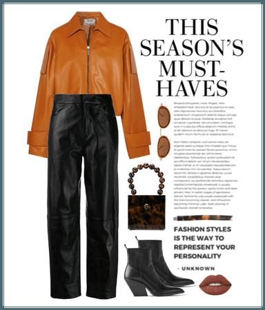 Leather on leather on leather on leat...