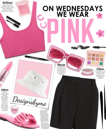 Wednesday we use pink 💕💗💖