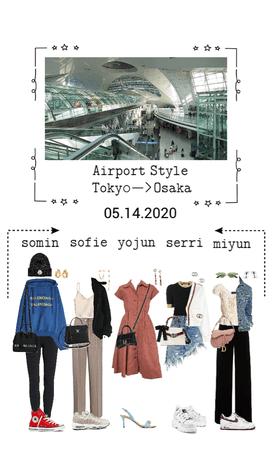 EG airport style Tokyo—>Osaka