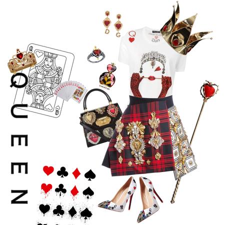 Modern Queen of Hearts ♥️👸🏻