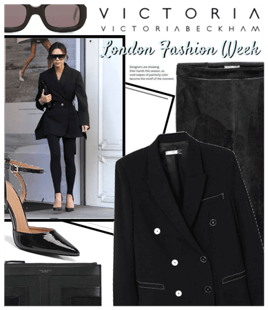 Victoria Beckham @ London Fashion Week