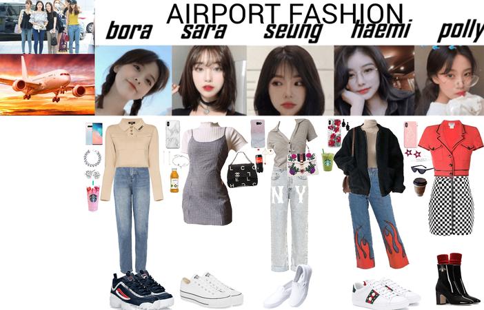 ALICE Airport Fashion SEOUL TO TORONTO