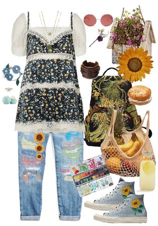 Summer Sunflower Boho