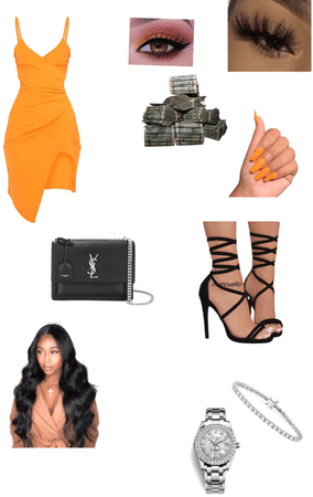 orange 🧡 bday outfit
