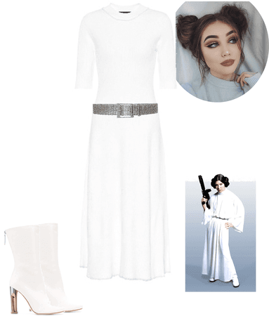 modern twist on Princess Leia