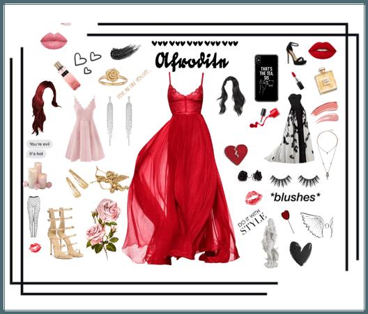 Aphrodite (the love goddess)
