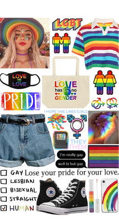 BE PROUD OF WHO YOU ARE 🌈