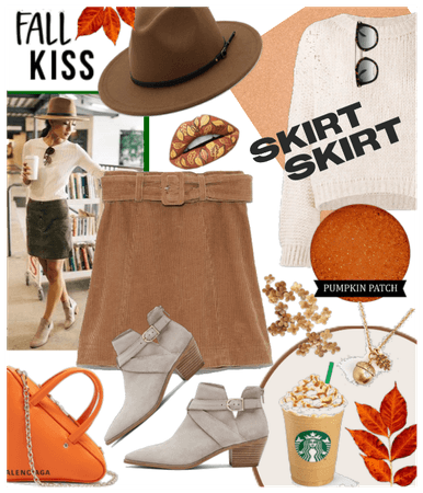 fall kiss