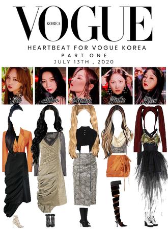 [HEARTBEAT] VOGUE KOREA, PART 1