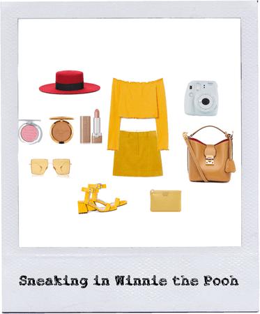 Sneaking in Winnie the Pooh