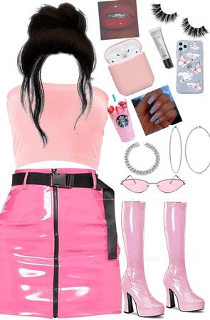pink baddie 💕💖💞🌸🔥