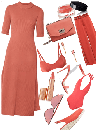 All coral essentials of the season