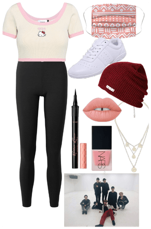 Bts dance practice outfit (u as the 8th member,)