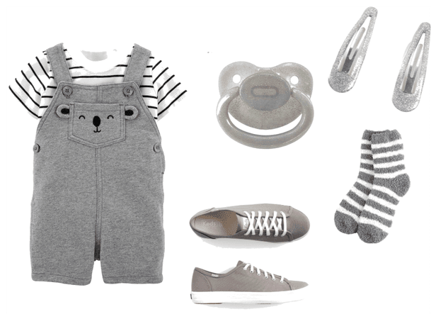 Grey-scale Baby (agere
