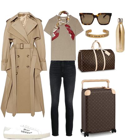 trench coat travel
