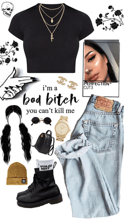 I'm a bad bitch, you can't kill me