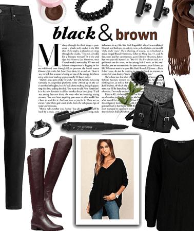Black & Brown