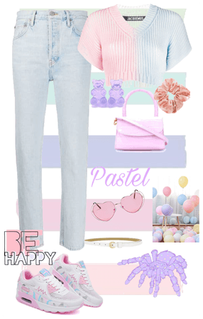 only pastel colors