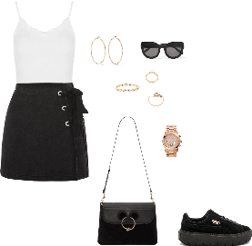 How to Wear: A-line Skirt