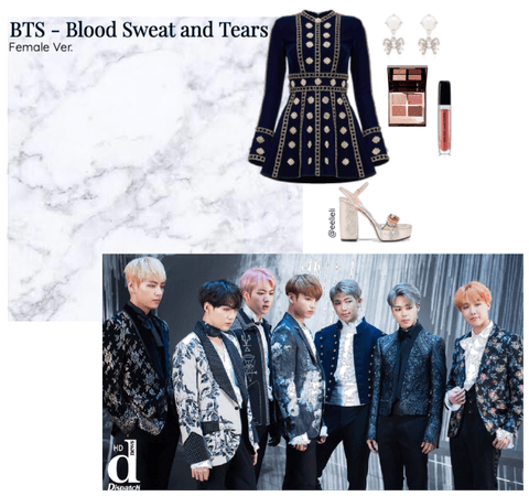 BTS - Blood Sweat and Tears - Female Ver.