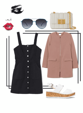 Date night out x camel coat