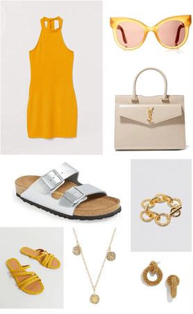 yellow summery