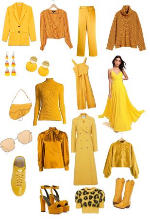 Amarelos Quentes