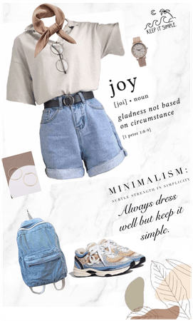 Simple casual everyday style🤞