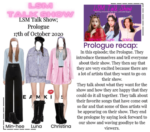 LSM Talk Show Prologue recap 201017