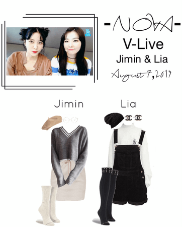 -NOVA- Jimin & Lia V-Live