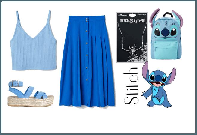 Stitch (Lilo & Stitch) - Disneybound
