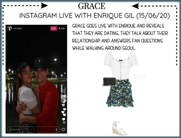 [GRACE] INSTAGRAM LIVE WITH ENRIQUE GIL