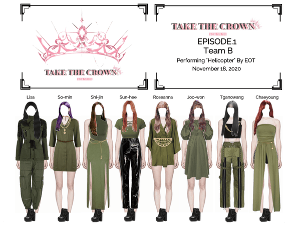 """Take The Crown"" Ep.1 [Team B]"